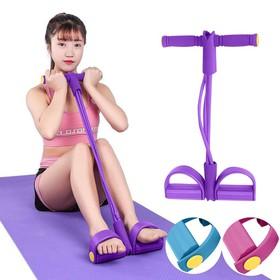 Combo 5 Dây kéo đàn hồi tập Gym tại nhà giúp kéo lưng, tập cơ bụng, cơ ngực, cơ tay, cơ chân - DKCS5