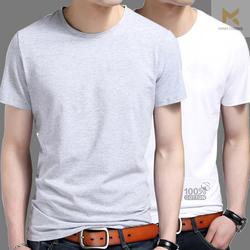 Áo phông nam cổ tròn, tay ngắn cao cấp, 100% cotton siêu mát  HÀNG VNXK