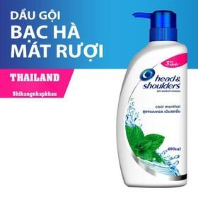 Dầu Gội Head Shoulders Bạc Hà 480ml Thái Lan - DGHS1