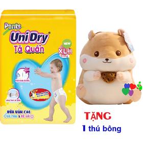 [Tặng 1 chuột bông Hamter] Combo 2 gói Tã quần Unidry size M60 _ size L54 _ size XL48 _ size XXL44 - DEAL2