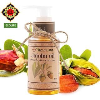 Dầu Jojoba Ecolife dưỡng ẩm, dưỡng da, dưỡng tóc 75ml
