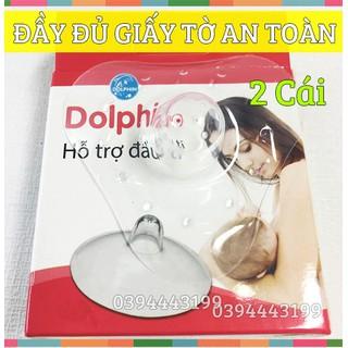 Hỗ Trợ Đầu Ty (Trợ ty) Silicone cho mẹ Dolphin - DP030 thumbnail