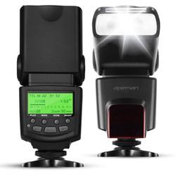 Đèn flash speedlite  APEMAN SL450 cho máy ảnh DSLR Canon