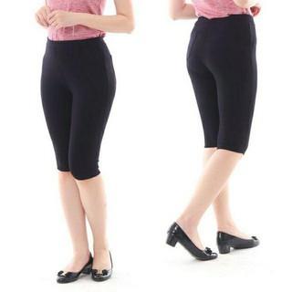 Quần lửng nữ - Legging ngố cotton 4 túi thumbnail