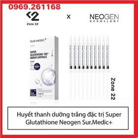 Tinh Chất Truyền Trắng Sur.Medic Super Glutathione 100 Bright Ampoule - Tinh Chất Truyền Trắng Bright Ampoule