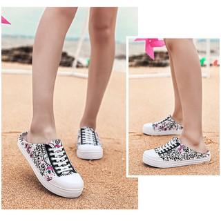 Giày nhựa kiểu dáng thể thao khoét gót cho nữ - W91 [ĐƯỢC KIỂM HÀNG] 29020280 - 29020280 thumbnail