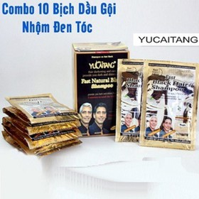 ComBo 10 Dầu Gội Nhuộm Tóc Đen - Cam Kết Chính Hãng - C10DG1