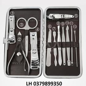 Cắt móng tay - Bộ kìm bấm móng 12 chi tiết - Cắt móng tay H350