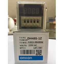 Timer/Rơ Le Thời Gian OmRon DH48S-1Z 220VAC 0.1S-99H (1 Cặp Tiếp Điểm)