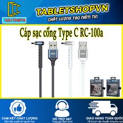 Cáp sạc USB Type C RC-100a