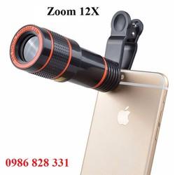 Ống kính zoom 12x cho điện thoại chụp hình
