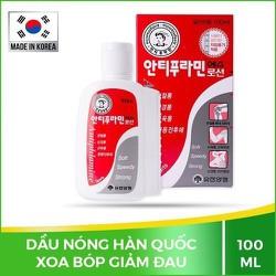 [FREESHIP] Dầu nóng Hàn Quốc Antiphlamine Chính hãng, Xoa Bóp Giảm Đau Hiệu Quả