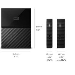 Box Hdd Ổ cứng di động 500Gb 1TB 2TB Western Elements  My Passport  usb 3.0. Vi Tính Quốc Duy