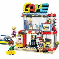 Combo 5 bộ lego lắp ghép thành phố 461 chi tiết