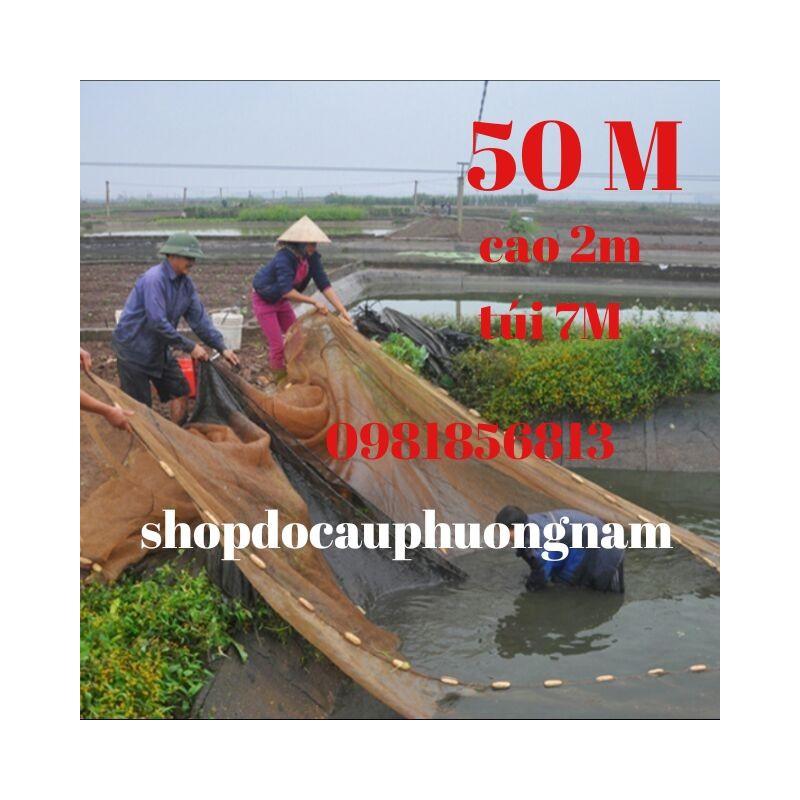 Lưới Kéo Cá Quét Cá Vét Cá Ao Hồ Dài 50 Hàng Đặt Đặc Biệt – 1900112963