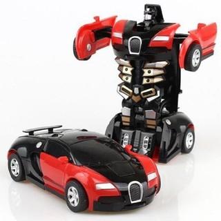đồ chơi ô tô - đồ chơi ô tô biến hình - 1053 thumbnail