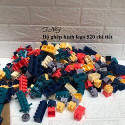Bộ đồ chơi ghép hình lego 360 hoặc 520 chi tiết