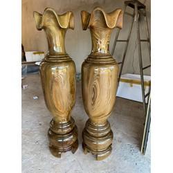 Lộc bình gỗ 1m20 gỗ thủy tùng hàng chuẩn đẹp đến từng milimet