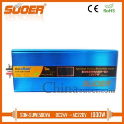 Bộ Inverter SUOER 24V 220V 1500VA Tích Hợp Sạc AC 15A Và MPPT 20A - SON-SUW1500VA