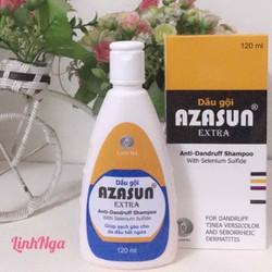 (Hỗ trợ VC) AZASUN Extra Dầu gội đầu cho da đầu nhiều gàu (gàu nặng)
