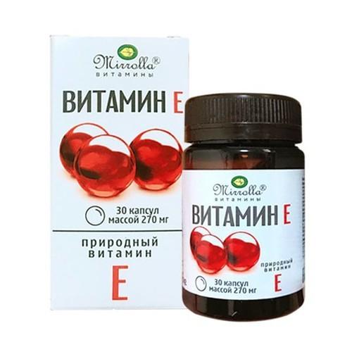 Vitamin E Đỏ Mirrolla Hộp 30 Viên - Mirrolla hp 30 vin 4