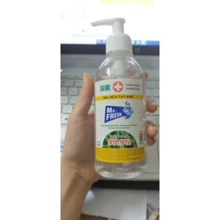 Gel rửa tay khô diệt khuẩn công nghê Nhật có vòi nhấn Mr.Fresh 250ml - FTH 3