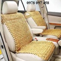 ghế lót hạt gỗ