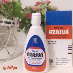 (Hỗ trợ VC) Azasun 1 Dầu gội đầu cho da đầu nhiều gàu