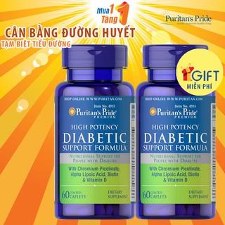 [MUA 1 TẶNG 1] Hỗ trợ TIỂU ĐƯỜNG Diabetic Support Formula 60 viên - 4955x2 thumbnail