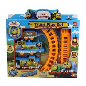 Bộ đồ chơi đường ray xe lửa cho bé - TR7923