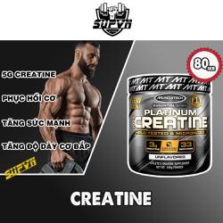 Creatine Platinum 80 lần dùng - Hỗ trợ sức mạnh và phát triển cơ bắp Muscletech