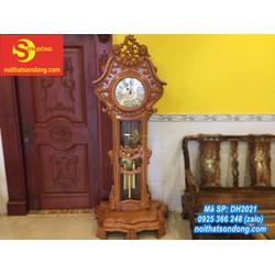 Đồng hồ gõ đỏ hoa lan tây lớn
