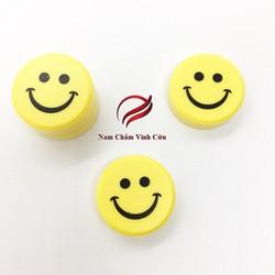 10 chiếc nam châm gắn bảng mặt cười nhỡ màu vàng