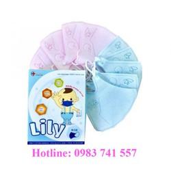 Khẩu trang y tế kháng khuẩn cho bé Lily [1 HỘP 10 CÁI] Khẩu trang dành cho bé,khẩu trang y tế trẻ em 3D