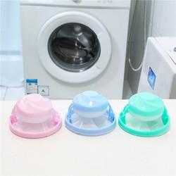 Phao Lọc Rác Bụi Bẩn Cho Máy Giặt Với Chất Liệu Nhựa Và Túi Được Thiết Kế Dạng Lưới