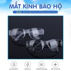 Kính bảo hộ MK-186 chất liệu nhựa PC chống va đập tốt, độ bền cao, thiết kế thời thượng, vừa vặn khi đeo, thiết kế 2 bên bảo vệ sát mắt chắn gió bụi cát, trọng lượng nhẹ đeo lâu không bị đâu (Màu đen)