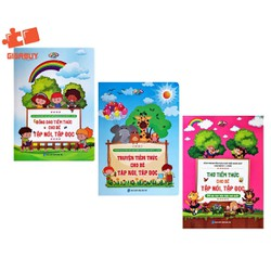 SÁCH - Combo Thơ, Đồng Dao, Truyện Tiềm Thức Cho Bé Tập Nói, Tập Đọc