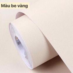 giấy dán tường màu be 1 màu