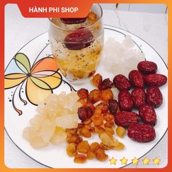 Combo nguyên liệu nấu chè dưỡng nhan 11 vị 200g - Phần nấu trà dưỡng nhan 1,5 - 2 lít