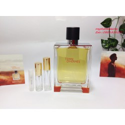 [Chiết 2,5,10ml] Nước hoa Nam Hermes Terre EDP – Mẫu thử