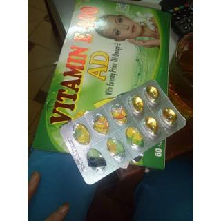 vitamin E 400 đẹp da, chống lão hóa, hỗ trợ tim mạch - TL130 2