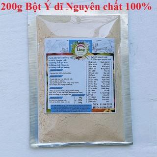 Bột Ý dĩ 200g có giấy VSATTP và ĐKKD nguyên chất thiên nhiên 100% dùng để đắp mặt đa công dụng - Ý Dĩ - 02 thumbnail
