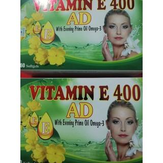 vitamin E 400 đẹp da, chống lão hóa, hỗ trợ tim mạch - TL130 1