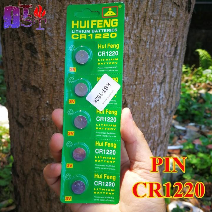 Pin CR1220 - 1 vỉ 5 viên