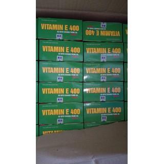 vitamin E 400 đẹp da, chống lão hóa, hỗ trợ tim mạch - TL130 6