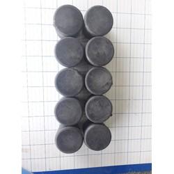 Nút bịt đầu ống sắt tròn phi 34 (10 cái)