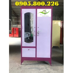 Tủ sắt quần áo mới - TS001