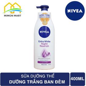 Sữa Dưỡng Thể Dưỡng Trắng Da Ban Đêm Nivea 400ml - DT NIVEA 400