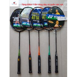 Combo 2 vợt cầu lông Yonex Khung Carbon (Tặng thêm 1 lần căng dây và quấn cán)