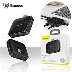 Bộ Hub chia cổng USB tốc độ cao Baseus Fully Folded Portable 4-in-1